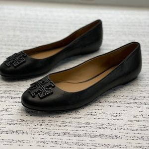 Brand New Tory Burch Lowell 2 Leather Ballet Flats
